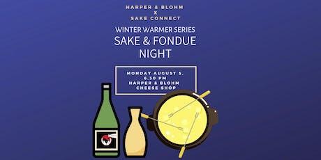 Fondue & Sake Night  tickets
