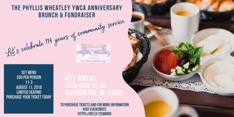 The Phyllis Wheatley YWCA Anniversary Brunch & Fundraiser tickets