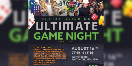 Social Drinking: Ultimate Game Night! tickets