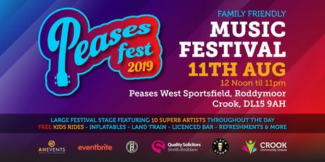 Peases Fest Music Festival tickets