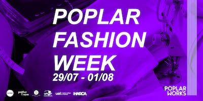 Pattern cutting masterclass : Poplar Fashion Week