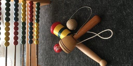 Children's Craft Drop in: Victorian Games