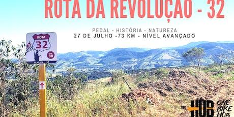 Rota da Revolução 32 -  Pedal História e Natureza - Itapira/SP ingressos