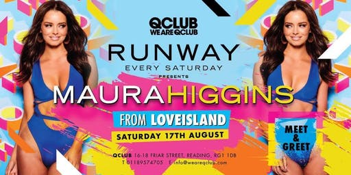 Runway Presents Love Islands Maura - Meet & Greet!