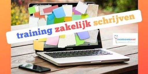 Training Zakelijk Schrijven