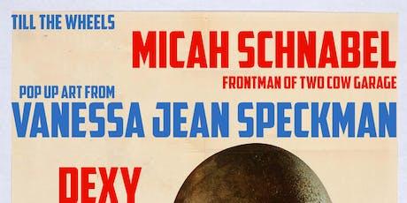 TTW- Micah Schnabel (Two Cow Garage)/ Vanessa Jean Speckman+more tickets