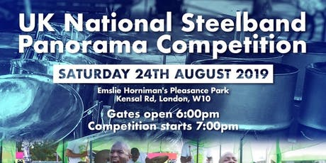 UK National Panorama steelband competition - Notting Hill Carnival ltd tickets