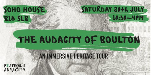Don't Settle x Festival Of Audacity: The Audacity of Boulton Tour