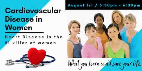 Cardiovascular Disease in Women tickets