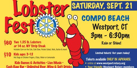 Westport Rotary LobsterFest 2019 boletos