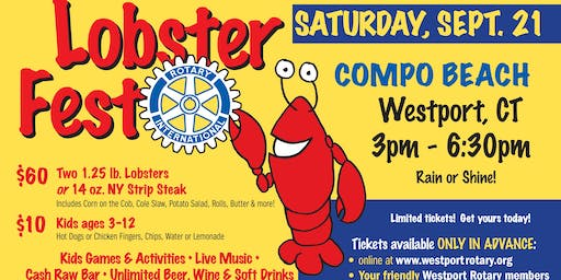 Westport Rotary LobsterFest 2019