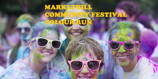 Markethill Community Festival COLOUR RUN