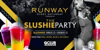 Runway Presents The Slushie Party!