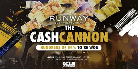 Runway Presents The Cash Cannon! tickets