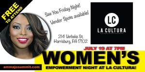 AMMA JO EMPOWERMENT NIGHT at La Cultura