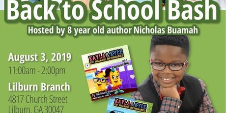 Back-to-School Bash with 8-Year-Old Author Nicholas Buamah tickets