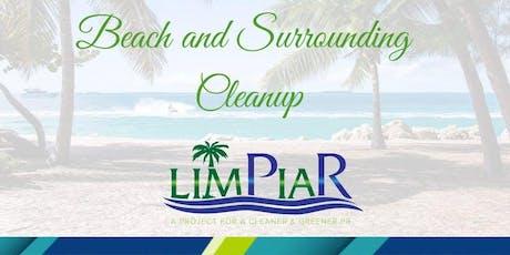 Limpieza de Playas/ Beach Cleanup entradas