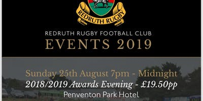 Redruth Rugby 2018/2019 Awards Evening