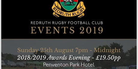 Redruth Rugby 2018/2019 Awards Evening tickets