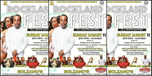 Rockland Fest the all white edition