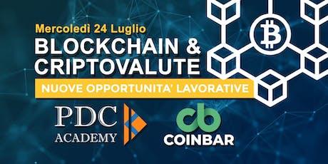 Nuove opportunità lavorative nel settore Blockchain e Criptovalute biglietti