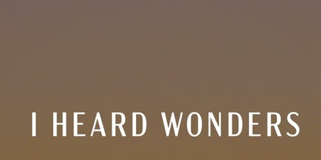 I HEARD WONDERS - WITH DAVID HOLMES - BEACH PARTY - COSTA da CAPARICA - POSTO 9 bilhetes