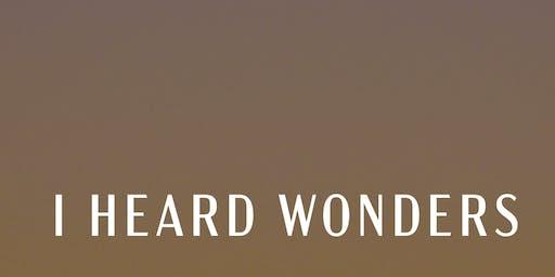 I HEARD WONDERS - WITH DAVID HOLMES - BEACH PARTY - COSTA da CAPARICA - POSTO 9