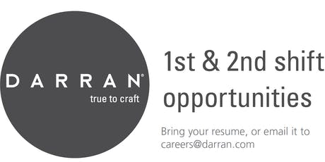 DARRAN Furniture 2-Day Job Fair tickets