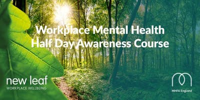 Mental Health Half Day Awareness Course Yeovil 6th November 9am till 1pm
