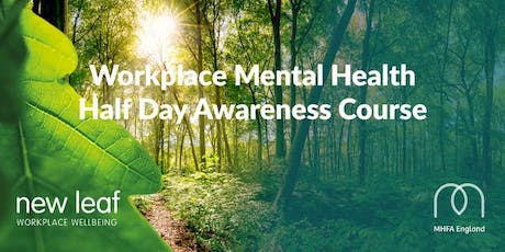 Mental Health Half Day Awareness Course Yeovil 6th November 9am till 1pm  tickets