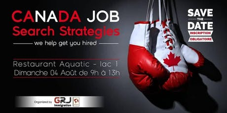 Canada Job Serach Strategies 2.0 billets