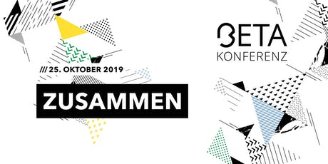 BetaKonferenz 2019 tickets