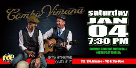 Bryan Spainhower and Combo Vimana tickets