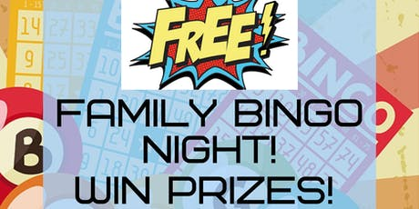 Free Family Bingo Night! tickets