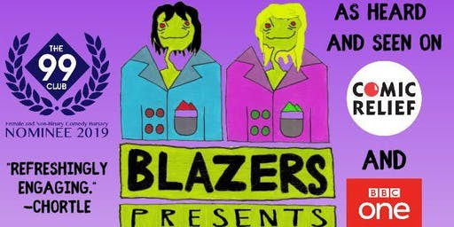 Blazers Presents Comedy at the Nell of Old Drury