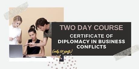 The Art of Conflict Resolution in Business: Copenhagen (3-4 December 2019) tickets