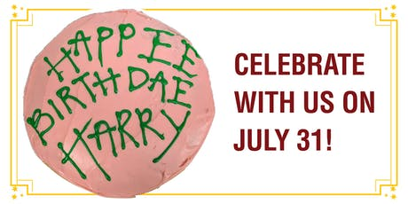 Harry Potter Birthday Celebration tickets