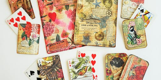 MAKE, CRAFT & DO: Altered Playing Cards with April Trickel