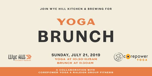 Yoga Brunch on the Hill