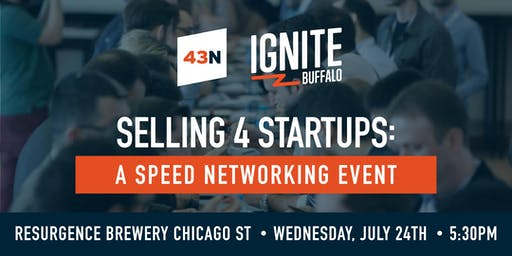 Selling For Startups: A Speed Networking Event