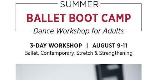 Summer Ballet Boot Camp