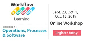 2019 Workflow Learning in Operations, Processes and...