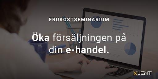 Öka försäljningen på din e-handel