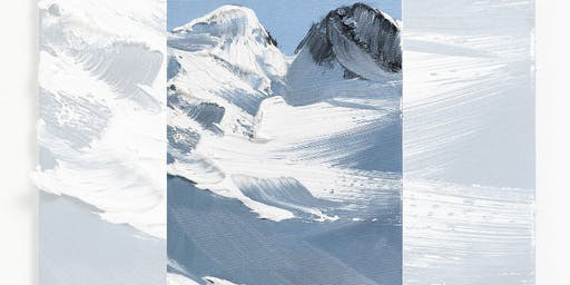 Brew N Brush: Snow Caps