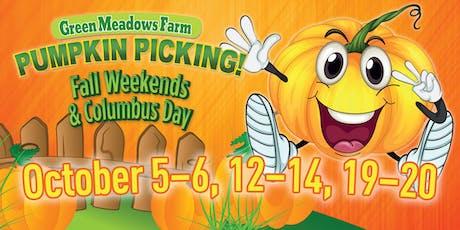 Green Meadows Farm Pumpkin Picking tickets