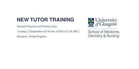 New Tutor Training tickets