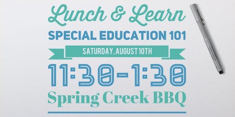 Lunch & Learn: Special Education 101 tickets
