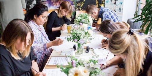 Beginners Modern Calligraphy Workshop