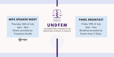 UNDFEM Panel Breakfast tickets