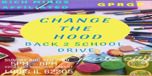 Rich Minds Affiliated & GPRGP Ent. Presents Change The Hood 2019 BTS Drive